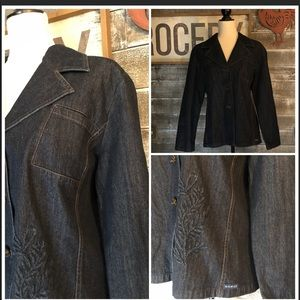 BLUE WILLI'S Denim Jacket size XL